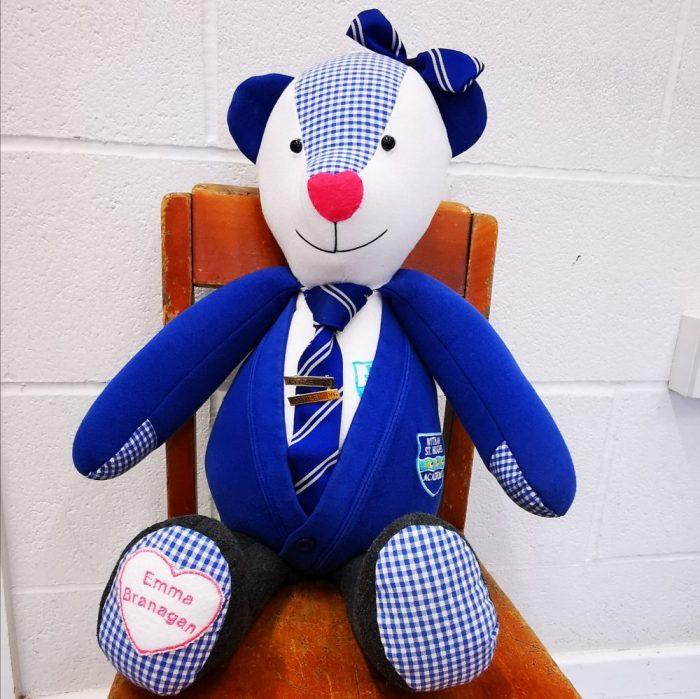 large school uniform bear