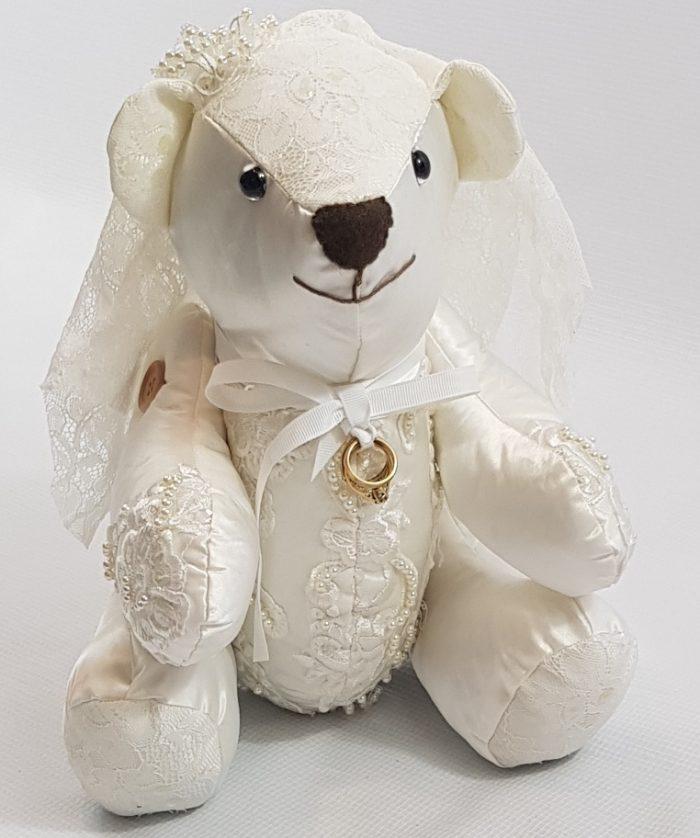 wedding memory bear