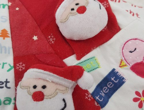How many clothing items do I need to send for a memory keepsake Christmas stocking ?